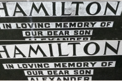 hamilton headstone before and after 1
