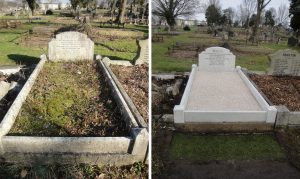 Grave Renovation and Cleaning